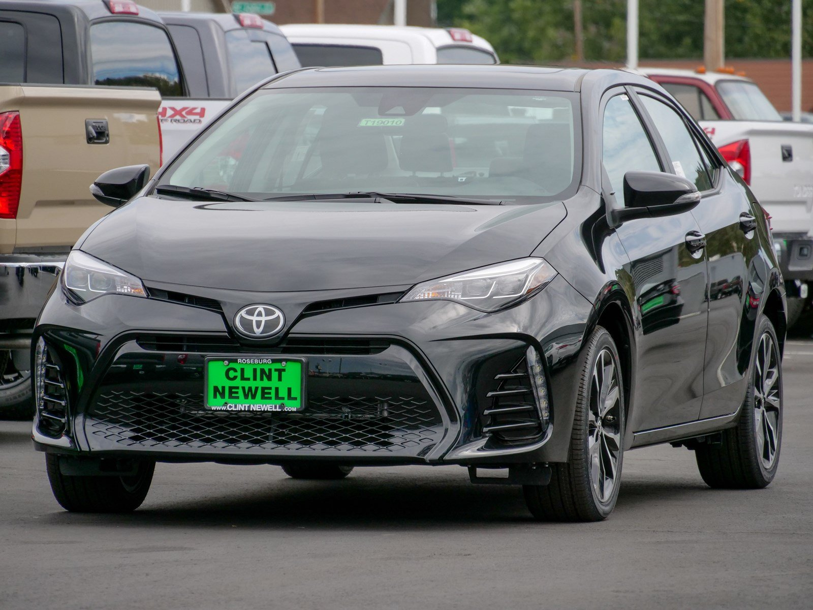New 2019 Toyota Corolla XSE 4dr Car in Roseburg T