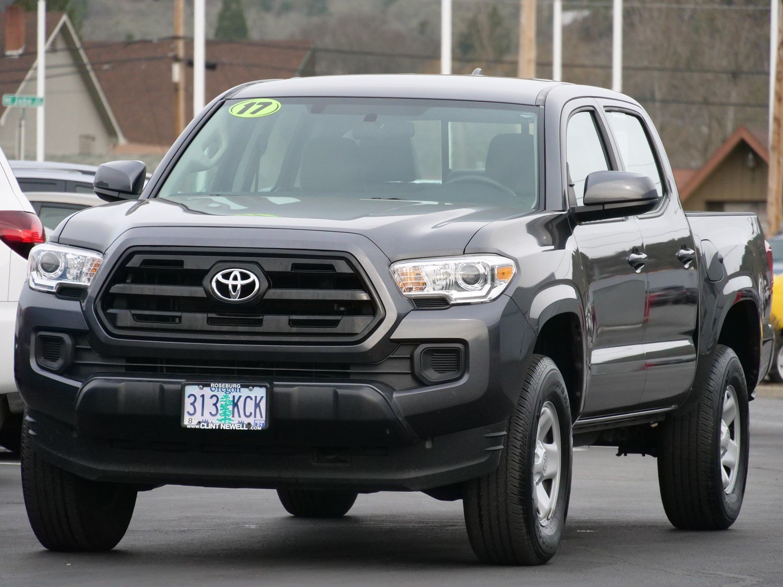 Certified Pre Owned 2017 Toyota Tacoma Crew Cab Pickup In Roseburg