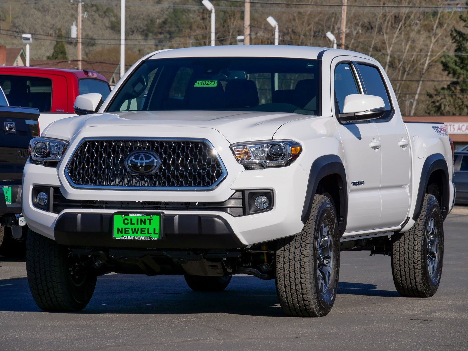tacoma toyota off road automatic double detail trd bed cab new
