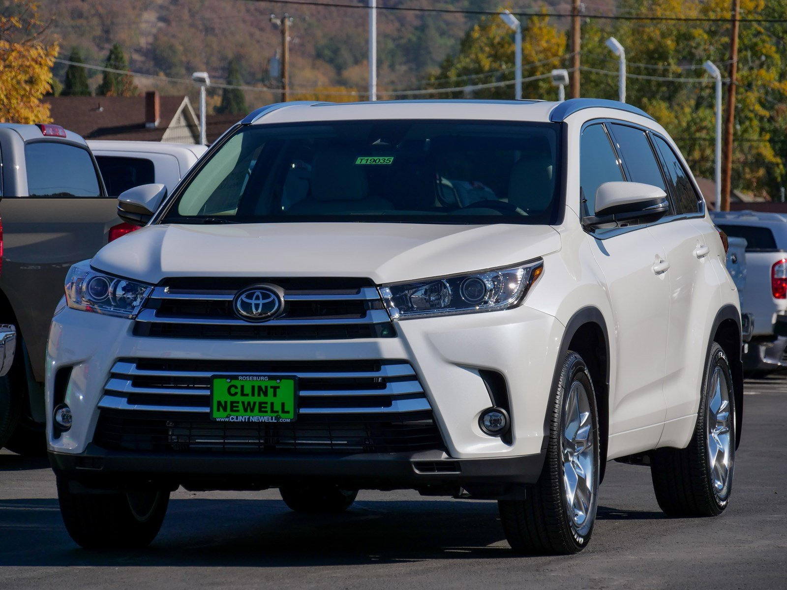 New 2019 Toyota Highlander Limited Sport Utility In Roseburg T19035 Camry Tow Bar Wiring