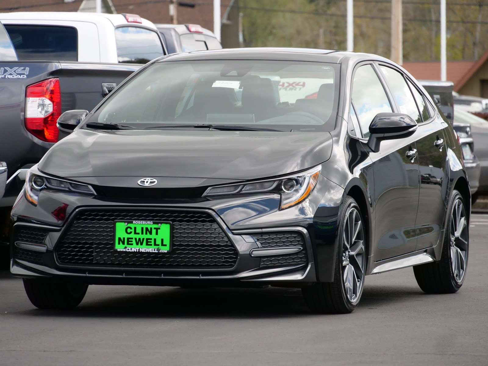 New 2020 Toyota Corolla Xse 4dr Car In Roseburg T20006 Clint