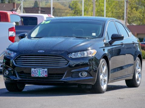 Pre-Owned 2016 Ford Fusion S