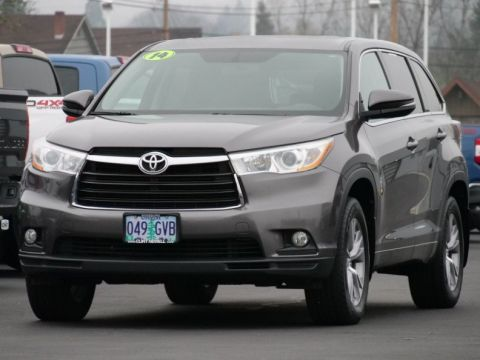 Certified Pre-Owned 2014 Toyota Highlander