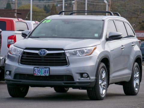 Certified Pre-Owned 2016 Toyota Highlander Hybrid STD