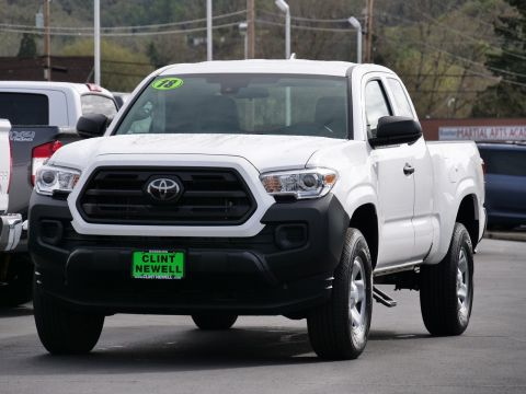 Pre Owned 2018 Toyota Tacoma Extended Cab Pickup In Roseburg T19189a Clint Newell