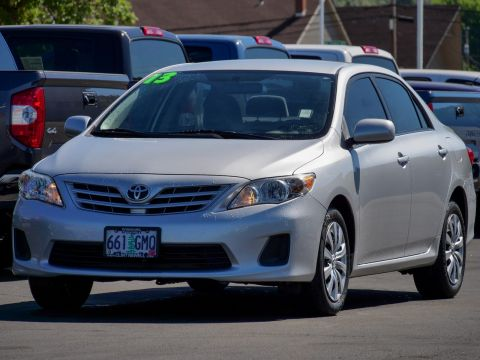 Certified Pre-Owned 2013 Toyota Corolla
