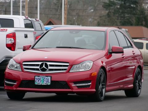Pre-Owned 2012 Mercedes-Benz C-Class
